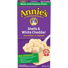 <b>Shells</b> & White Cheddar Mac and Cheese | Annie's Homegrown