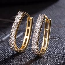"Universe of goods - Buy ""Shellhard Luxurious Hoop Earring ..."