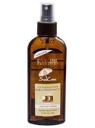 <b>Солнцезащитное водостойкое масло</b> spf3 с маслом аргана ...