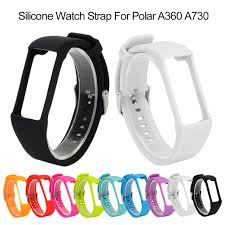 NEW Arrival <b>Soft Silicone</b> Replacement <b>Watch Strap</b> Wristband For ...