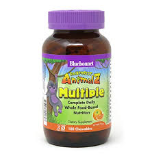 Bluebonnet Nutrition <b>Rainforest Animalz Whole Food</b> Based Multiple ...