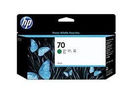 <b>HP</b> C9457A <b>70</b> 130ml Ink Cartridge (<b>Green</b>): Amazon.in: Computers ...