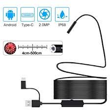 Endoscope <b>USB</b> 3 in 1 Borescope <b>Snake Inspection</b> Camera IP68 ...