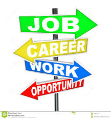 career stock photos images pictures images job career work opportunity words road signs stock image