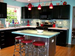 Red Retro Kitchen Accessories Kitchen Cabinet Door Accessories And Components Pictures Options