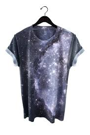 Galaxy Tee Shirt <b>100</b>% Polyester tee featuring a <b>real image</b> of the ...