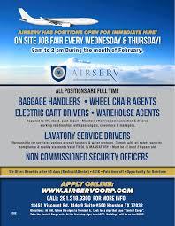 jobsparx airport houston texas job search jobs employment on site job fair