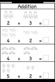 7 Best Images of Free Printable Preschool Addition Worksheets ...Free Printable Kindergarten Math Addition Worksheets
