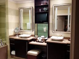 built bathroom vanity design ideas: lofty design bathroom vanity with makeup area vanities  inch in white built between