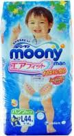 <b>Moony</b> Pants Boy L / 44 pcs – купить <b>подгузники</b>-трусики ...