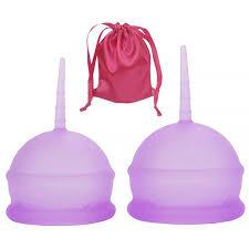 <b>2PCS</b> Women's <b>Menstrual Cup</b> Silicone Cup | Walmart Canada