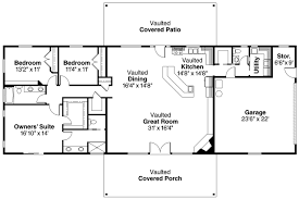 Simple Bedroom One Story House Plans On Bedroom One Story    Gallery for  quot  Bedroom Ranch Style House Plans quot   bedroom ranch style house plans