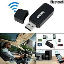 <b>3.5mm AUX</b> To USB Wireless Bluetooth Audio Stereo <b>Car Music</b> ...