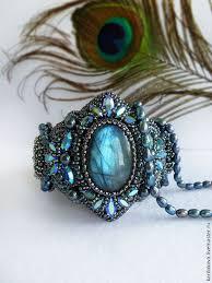 """Купить <b>Браслет</b> """"Mystical shine"""" с лабрадоритом и кристаллами ..."""