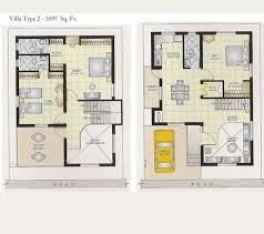 images about Ideas for the House on Pinterest   Duplex house    Decoration  The Brilliant Villa Type With Yellow Car In A Garage New House Plan For A Year Ago Duplex House Plans Indian  New House Plans