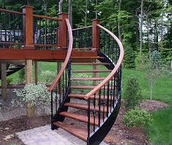 Best 25  Deck stair railing ideas on Pinterest   Outdoor stair moreover Exterior Deck Stairs   Stairs design Design Ideas   electoral7 besides How to build deck stairs   Decks     YouTube together with Wooden Deck With Staircase And Landing   Deck Staircase Design additionally Deck Staircase Design Ideas   Wearefound Home Design further Best 25  Round stairs ideas only on Pinterest   Modern stairs in addition Best 25  High deck ideas on Pinterest   Second story deck  Two furthermore  additionally Best 25  Deck stair railing ideas on Pinterest   Outdoor stair also Best 25  Deck stairs ideas only on Pinterest   Outdoor deck likewise deck designs   Brazilian Redwood deck with flared stairs. on deck staircase design