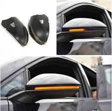 smoked flow light side mirror