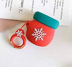 TA BEST <b>Case for</b> Airpods <b>Case</b>, Cute <b>Christmas</b> Red: Amazon.in ...