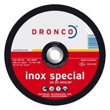 <b>Обдирочный круг</b> Dronco AS 30 S Inox special 230 <b>мм</b> купить в ...