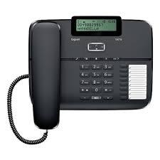 <b>Проводной телефон GIGASET DA710</b> Black — купить в интернет ...