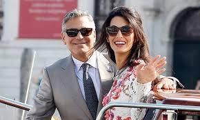 Амаль Аламуддин вышла замуж за Джорджа Клуни в платье ...