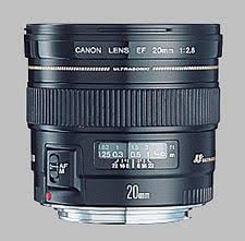 <b>Canon EF 20mm f/2.8</b> USM Review