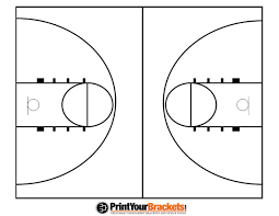 best photos of blank basketball court diagram   blank basketball    printable basketball court diagram