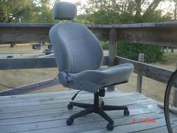transform junker car seats into good looking comfortable office chairs car seats office chairs
