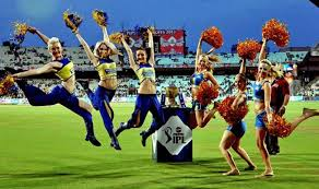 Image result for rcb v/s kxip cheerleaders