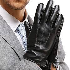 <b>Leather Gloves</b> for Mens, Full-Hand <b>Touchscreen</b> Gift Packaging ...