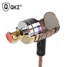 Earphone QKZ DM6 Earphones Professional in ear Headset <b>Metal</b> ...