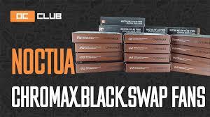 <b>Вентиляторы Noctua</b> chromax.black и антивибрационные уголки ...