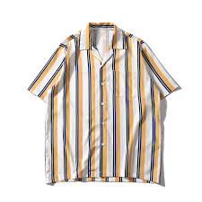 <b>Dark Icon</b> Striped Front Pocket <b>Vintage</b> Shirts Men <b>Retro</b> Street ...