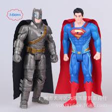 new world war 2 american superman batman doll ornaments decorated gift children toy birthday gifts batman superman iron man 2