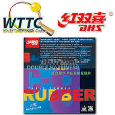 Double Happiness DHS C8 Table Tennis Rubber long pimples with ...