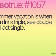 Summer vacation quotes and sayings on pics via Relatably.com