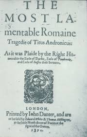 heated response the bardolator cover page of a titus andronicus