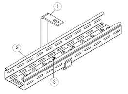 <b>Крепление</b> кабельных лотков - инструкции от ОСТЕК
