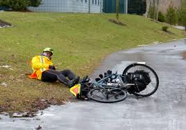 Image result for cycling fall down