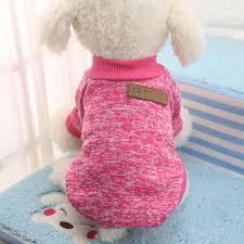Pet Dog Clothes Chihuahua Winter <b>Warm Cotton Cat</b> Hoodies ...