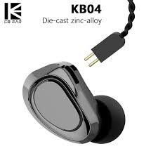 KBEAR <b>KB04</b> 1BA+1DD Hybrid Drivers In Ear <b>Earphone HIFI</b> DJ ...