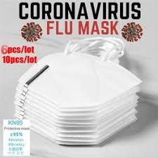 6/10pcs KN95 Soft Face Mouth Mask Respirator KN95 N95 ... - Vova