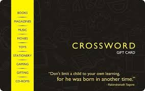 Crossword Gift Card - Rs.250: Amazon.in: Gift Cards