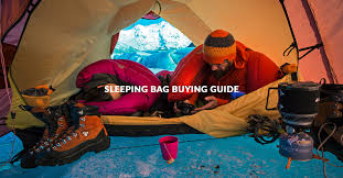 <b>Sleeping Bag</b> Buying Guide - Features