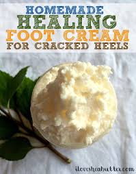 <b>Shea Butter Foot</b> Cream Recipe