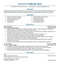 best surgeon resume example livecareer create my resume