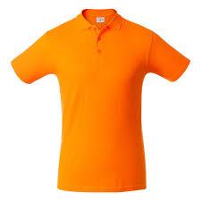 <b>Рубашка поло мужская SURF</b>, оранжевая - купить на 4kraski.ru