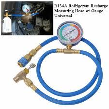 Car AC Air Conditioning <b>R134A Refrigerant</b> Recharge Hose w ...