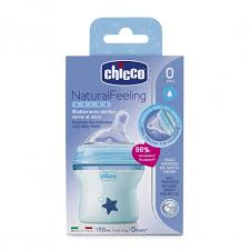 <b>Бутылочка Chicco Natural</b> Feeling силикон, с наклоном и ...