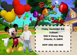 magnificent mickey mouse party invitation cards birthday party agreeable mickey mouse clubhouse birthday party invitations